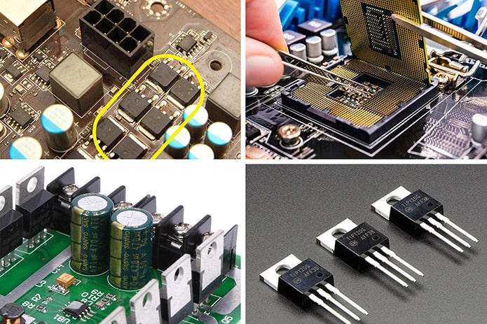 Ứng dụng mosfet